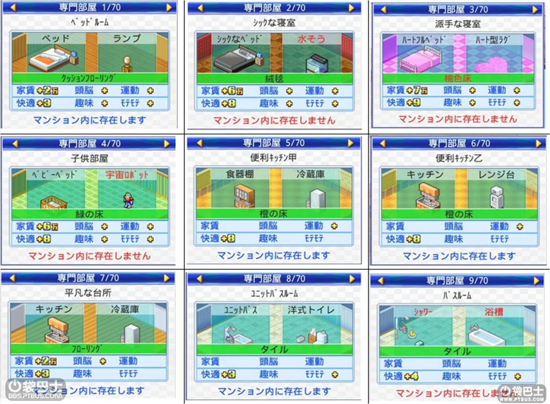 住宅梦平民物语图全部布局房间详解旅行者暖暖49布局攻略图片